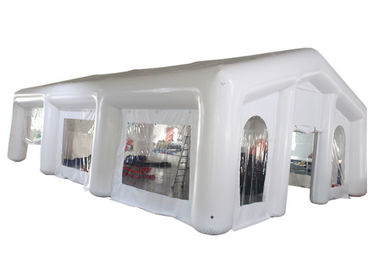 Airight Inflatable Medical Tent , 0.6mm PVC White Inflatable Tent For Emergency