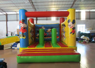 Small size inflatable mickey jumping house PVC inflatable Kindergarten bouncer mini size inflatable bouncy