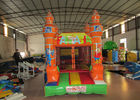 China Mini inflatable fantasia bouncy small size inflatable mini jumping house for kids under 5 years old with printing factory