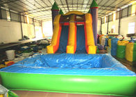 Inflatable combos PVC inflatable jump classic inflatable bouncy house with pool colourful inflatable bouncy