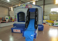 China European bouncy inflatable mini bouncer castle PVC inflatable jumping house with slide inflatable mini jump for kids factory