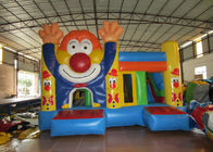 China Circus clown inflatable combo house waterproof PVC fabric inflatable clown jumping combo classic inflatable clown bouncy factory