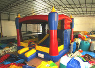 Simple inflatable mini combo castle for commercial actitivies small inflatable combo castle for baby