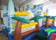 China Giant Inflatable dolphin New Ocean undersea world Fun city Inflatable ocean playground park factory