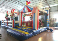 Inflatable circus clown fun city new design inflatable clown multiplay fun park on sale