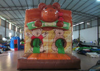 Lovely Obstacle Course Bounce House , Kids Inflatable Obstacle Course 3 X 9x 3m