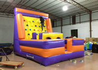 China Inflatable Water Climbing Wall / Tower , Funny Attractive Blow Up Climbing Wall factory