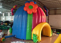 Colourful Blow Up Party Tent Wind Resistant , Outdoor Amusement Park Blow Up Event Tent