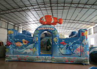 China New Design Inflatable Undersea World Fun City Amusement Park On sale factory
