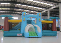 Attractive Dinosaur World Big Jumpy House , Outdoor Jurassic Park Kids Bounce House