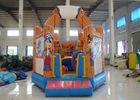 China Double Stitching Pirate Ship Bounce House 5 X 5 X 4m , Professional Small Jump House factory