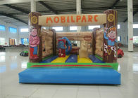 Customized Mini Kids Inflatable Bounce House Quadruple Stitching 3 X 4 X 3m Inflatable mini bouncer