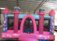 China Princess Castle Kids Inflatable Bounce House 0.55mm Pvc Tarpaulin 3 - 15years Old Children factory