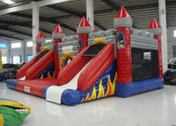 New Inflatable volcano bouncy castle full printing inflatable jumping castle combo beautiful color inflatable jump