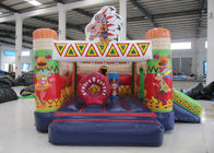 China Inflatable India mini bouncer combo multi play classic inflatable mini jumping house with small slide kids bouncy house factory