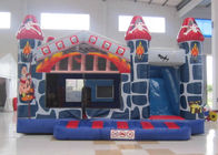 Classic inflatable bouncy castle PVC printing inflatable castle house hot sale inflatable bouncer castle with slide