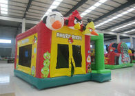 China Popular insane birds inflatable combo cheap price commercial inflatable jumping house castle for sale factory
