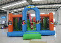 China Cheap price inflatable crazy bird combo house commercial inflatable crazy bird jumping castle with slide on sale factory
