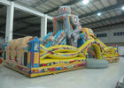 Indoor Playground Robot Inflatable Fun City Safe Nontoxic For Amusement Park