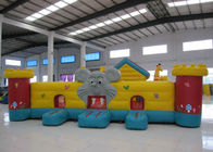 Cute Animal Inflatable Kids Bounce House PVC inflatable house use bouncy Elephant Dog Animals Inflatable Fun House
