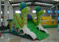 Mini Snake Style Commercial Inflatable Water Slides 0.55mm Pvc Tarpaulin Safe Nontoxic