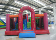 Clown Theme Water Bouncy Castle 7 X 5x 3.8m , Outdoor Amusement Adult Slip And Slide
