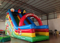 Inflatable Crazy Bird Toddler Water Slide , Attractive Jumping Castle Water Slide