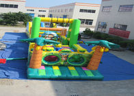 Big Party Games Kids Inflatable Obstacle Courses Double Stitching 25.9 X 3.66 X 4.9m