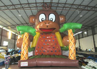 China Kids Big Party Inflatable Rock Climbing Wall Mountain Colourful 6 X 6 X 7.5m factory