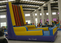 China Hot sale inflatable velcro wall interesting inflatable stick wall for sale inflatable single stick wall factory