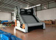 China Different colours inflatable basketball shooting games for children factory
