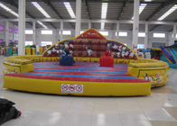 Commercial Inflatable Sports Games / Gladiator Game Safe Nontoxic Customized