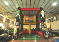 Good Quality Kids Inflatable Bounce House & High inflatable rugby ball sport game competitive inflatable ball sport game for sale on sale