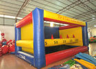 Big Party Inflatable Sports Games Jumping Castle Waterproof 0.55mm Pvc Tarpaulin