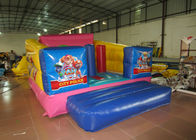 China Durable Custom Made Inflatables Bounce House Slide Combo Digitally Printing 4 X 3 X 2.2m factory