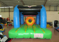 China Simple Super Games Custom Made Inflatables 0.55mm Pvc Tarpaulin For Amusement Park factory