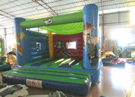 Attractive Blow Up Jump House 0.55mm Pvc , Outdoor Games Toddler Bounce House