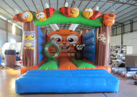 China Outdoor Games Custom Made Inflatables Safe Waterproof Enviroment - Friendly inflatable bounce house factory