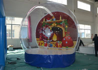 China Advertising Christmas Yard Inflatables Ball , Inflatable Outdoor Christmas Decorations factory