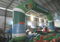 Full Painting Inflatable Race Arch , Advertising Decoration Inflatable Start Finish Arch