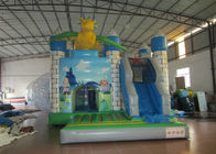Dragon Combo Inflatable Jump House Safe Nontoxic Quadruple Stitching In Public