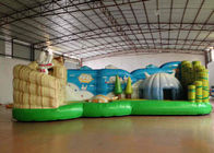 China Full Digital Printing Cartoon Kids Inflatable Bounce House Waterproof 8.615 X 4m factory