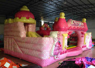 Waterproof Princess Bouncy Castle  Full Digital Printing , Attractive Giant Bouncy House