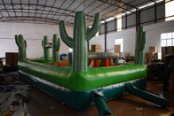 Small Wild West Inflatable Sport Games / Inflatable Obstacle Course For Kids Under 5 Years