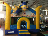 China Inflatable Minions Themed Kids Inflatable Bounce House With Digital Painting Adorable factory