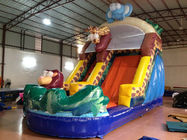China Forest Elephant Animals Commercial Inflatable Water Slides Standard For Kids Under 15 factory