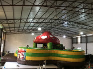 New design inflatable mushroom fun city round shape inflatable mushroom bouncy house fun amusement park for sale
