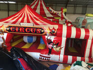 Best sale inflatable circus clown fun amusement park inflatable circus clown funny fun city cute clown jumping house