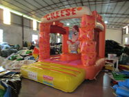 Lovely Kids Inflatable Bounce House / Mini Size Inflatable Cheese