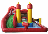 China Cheap inflatable mini combo with pool inflatable simple combo pool game for kids under 6 years factory